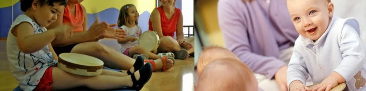 clases de música para bebés y niños