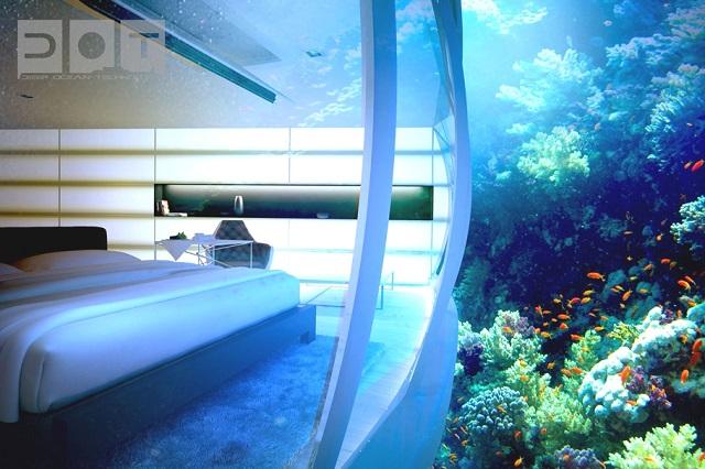 Luxury underwater disc hotel dubai icreatived for Top 10 luxury hotels in dubai