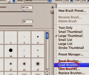 how to install new brush in photoshop