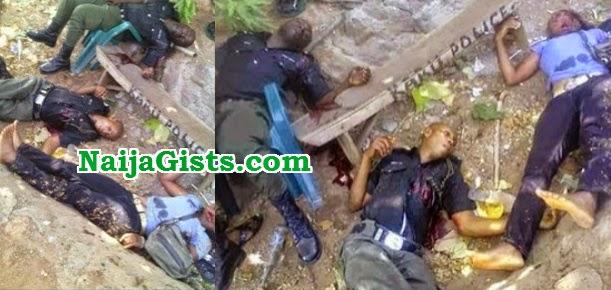 police corporal killed inspector abuja