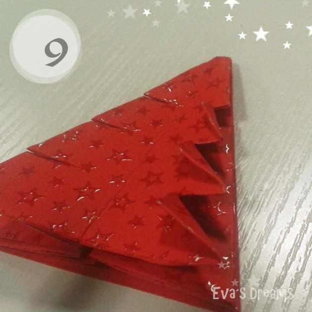 DIY: Origami Tannbaum 2.0 - Step9
