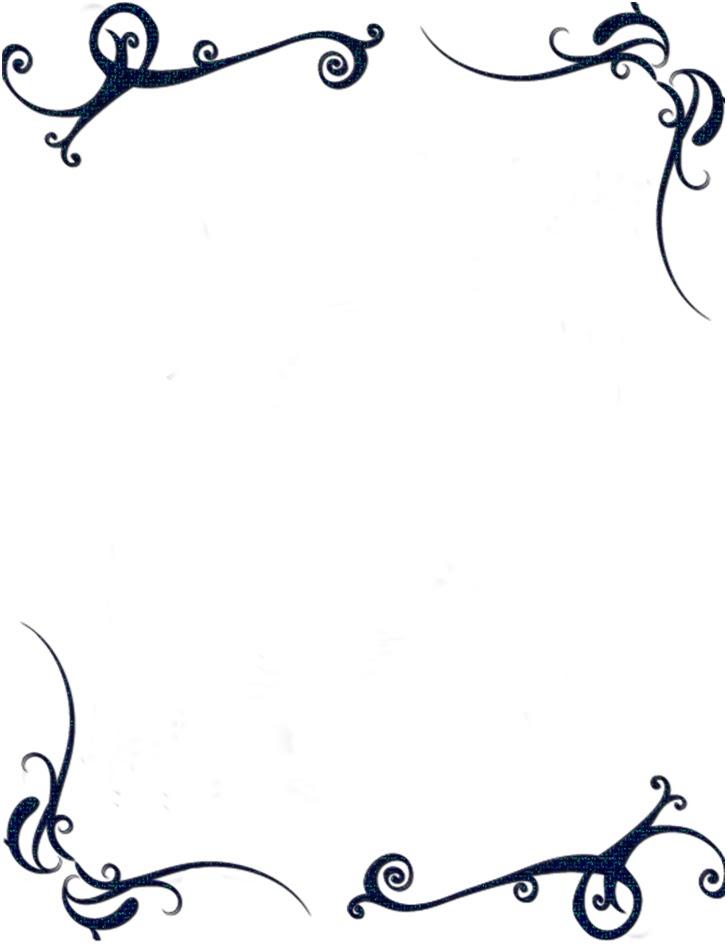 Bordes para hojas para descargas gratis - Imagui