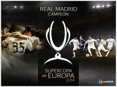 Real Madrid Campeón Supercopa de Europa 2014
