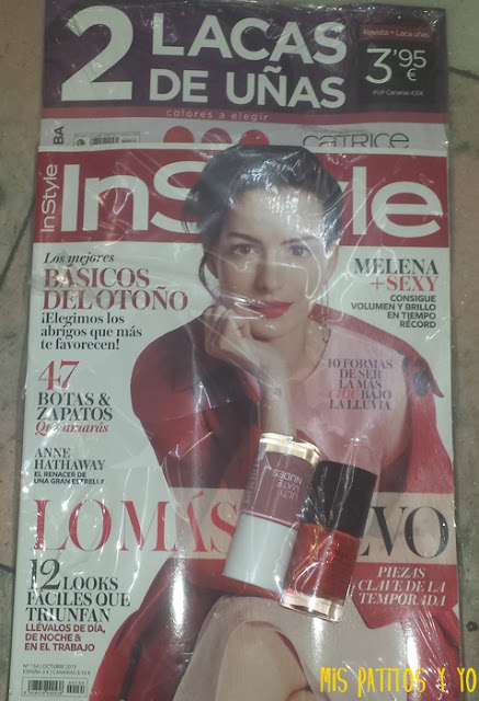 InStyle Octubre 2015