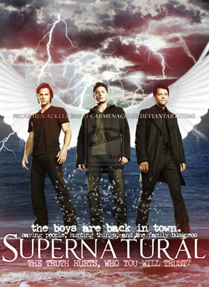 Siêu Nhiên 6 - Supernatural Season 6 (2010) Poster