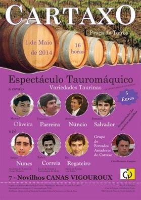 Cartaxo espect culo de variedades taurinas 01 05 14 for Espectaculo de variedades