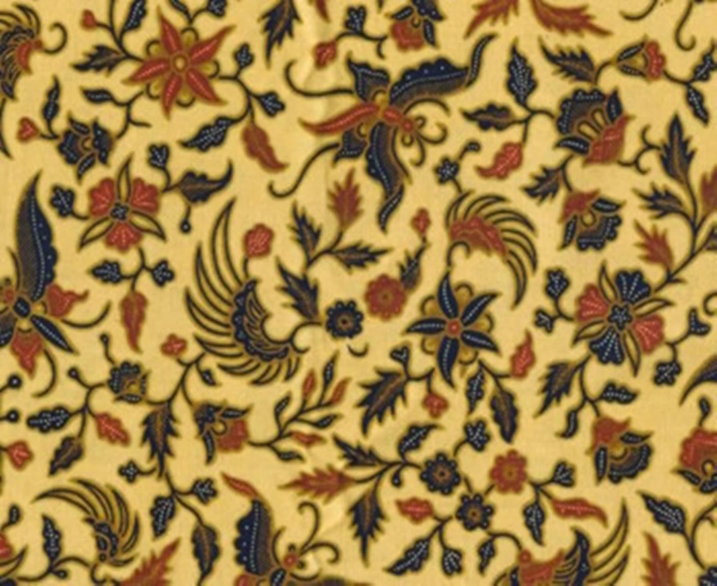 batik jogja motif burung