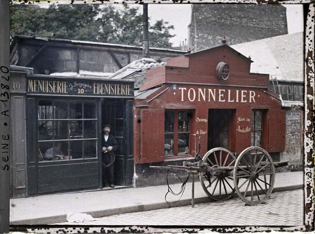 Les numéros 8 et 10 de la rue du Montparnasse 1914