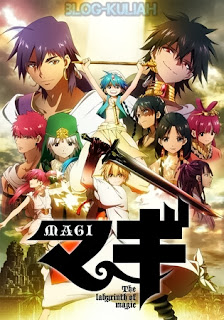 Magi: The Labyrinth of Magic 3gp mp4 Sub Indonesia