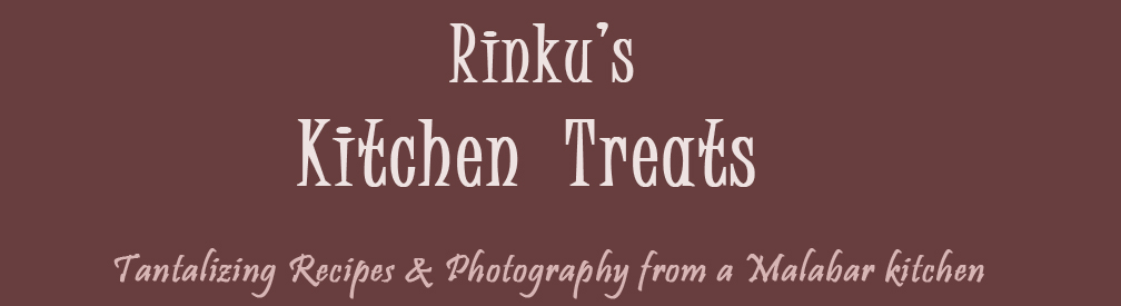 Rinku&#39;s Kitchen Treats
