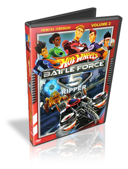 Download Hot Wheels Battle Force 5 – 1ª TEMPORADA – VOL 2 Dublado 2010