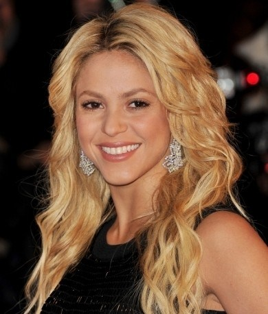 Sometimes, Shakira Experiments And May Appear With Hair Similar To