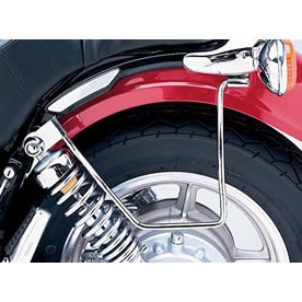 Yamaha virago saddlebag support bars for Yamaha virago 1100 saddlebags
