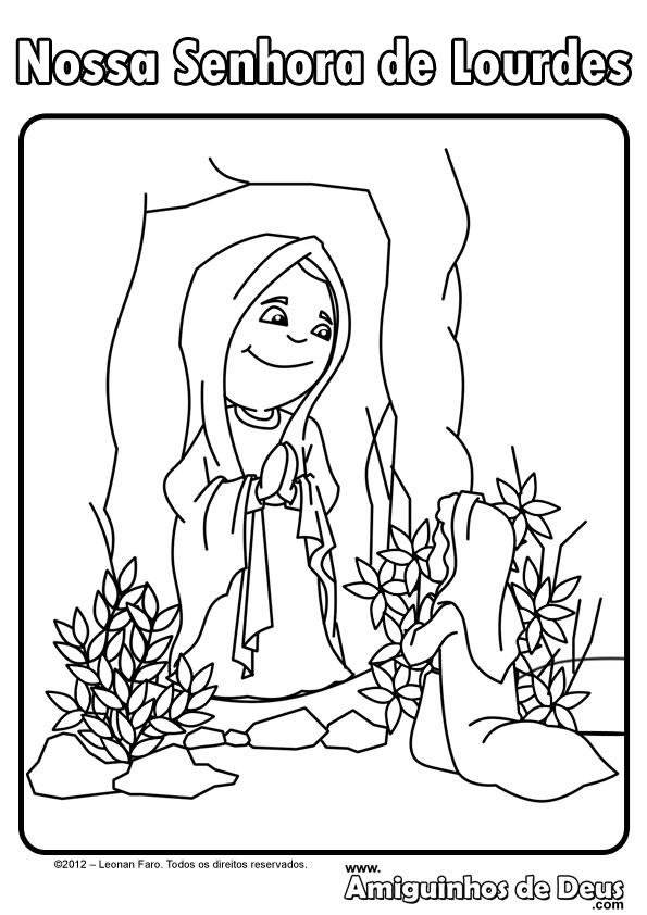 Clasedereli: Nuestra Señora de Lourdes