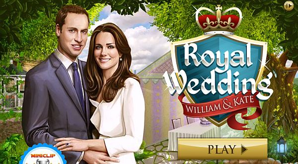 Game Royal Wedding Comes Ahead Of A Marriage Between Prince William Kate Middleton