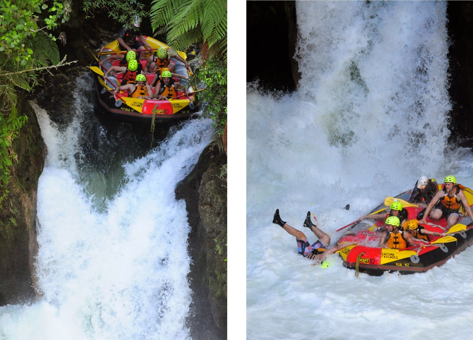 Man overboard on the Kaituna River!