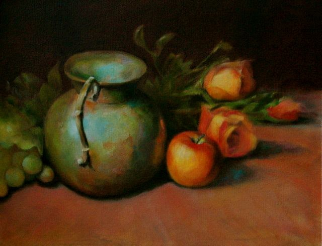 Amy fell oil painting tips tips for beginners from a beginner for How to start an oil painting for beginners