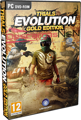 Trials Evolution: Gold Edition - PC-Game (2013) DVD