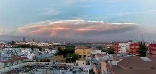 Sevilla - Nube lenticular