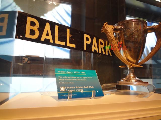 Ball Park trophy