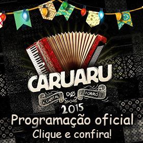 Programação Oficial do São João de Caruaru 2015