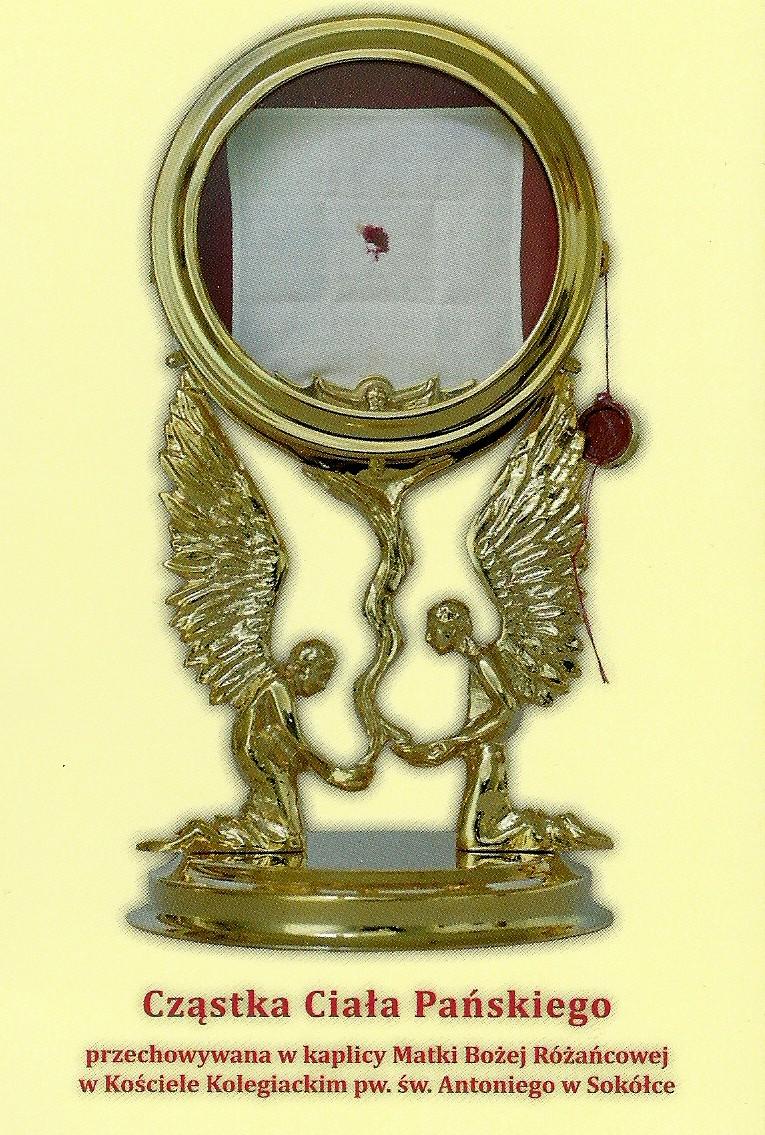 Znalezione obrazy dla zapytania koronka do Jezusa ktory objawił się w Sokółce