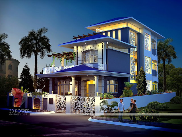 Ultra modern home designs contemporary bungalow exterior for Bungalow exterior design ideas