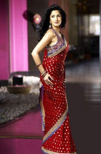 Katrina Kaif hot Pictures in Saree