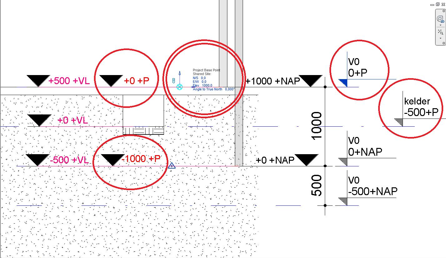 Spot Elevation Plan Revit : Ik leer bim revit coördinaten stelsels