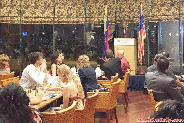 H.E. Manuel Guzman, the ambassador of Bolivarian Republic of Venezuela, Venezuela Gastronomic Festival 2015, Pullman KLCC