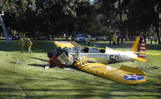 indiana jones harrison ford accidente aereo avion muere estrello vive