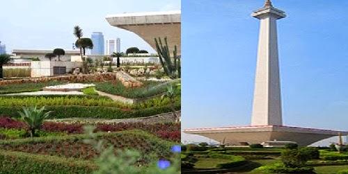 Tugu Monas Monumen Nasional