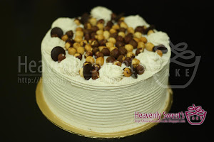 Hazelnut Coffee Cream Cake