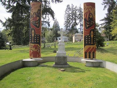 Chief Seattle Grave - Suquamish