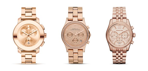Rose Gold Watch Trend Rose Gold Watches Dkny