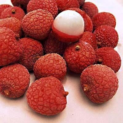 Frutas exóticas y bellas - Lichi