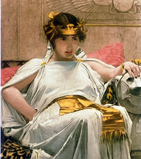 waterhouse cleopatra painting