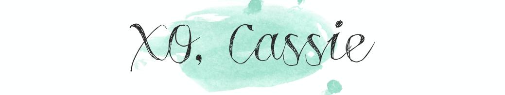 XO, Cassie