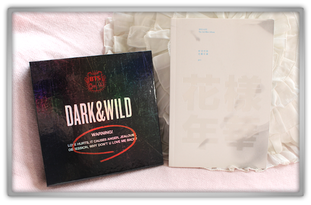 KPOPTOWN BTS 방탄소년단 Haul Review Bangtan boys Beauty blog dark wild The Most Beautiful Moment in Life Pt. 1