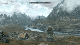 Skyrim Mod: Enhanced Distant Terrain