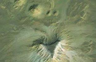 Inilah piramida di Mesir yang terekam oleh satelit Google Earth. (sumber: Newsdiscovery)