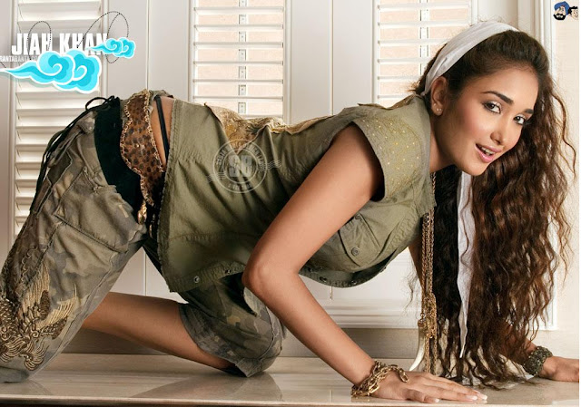 Jiah Khan HD Wallpaper