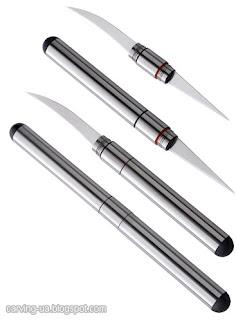 двусторонний тайский нож