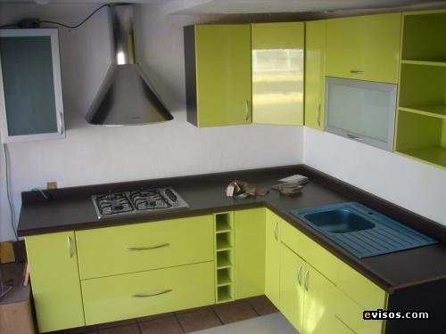 Muebles de cocina en l imagui for Cocinas muebles a medida