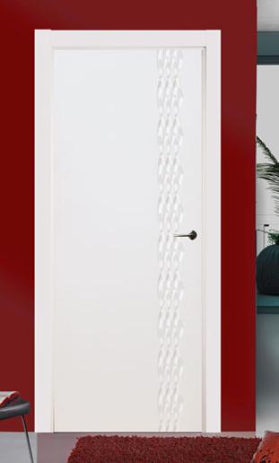 Puertas lacadas en blanco fantasy pumolza artideco - Puertas de madera lacadas en blanco ...