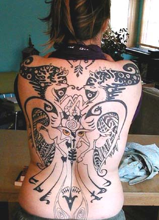 Tattoo Design On Hip