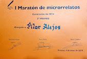 I MARATÓN MICRORRELATOS PICANYA 2019 - 2º PREMIO