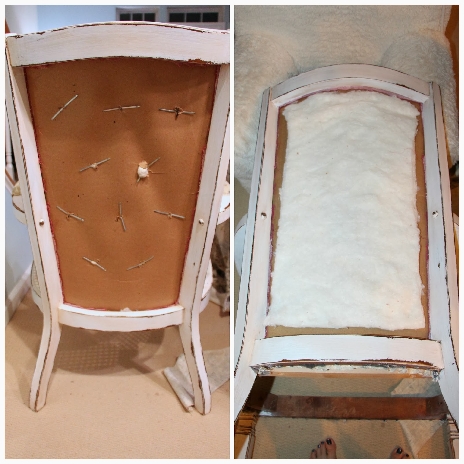 Rachel s Nest Cane Chair Makeover Part 2