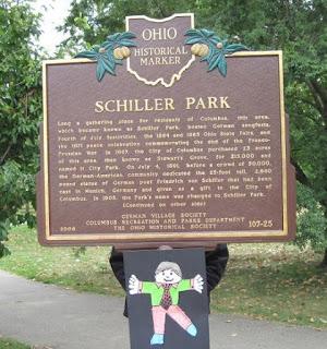 Schiller Park sign side 1