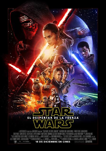 Póster de 'Star Wars: el despertar de la Fuerza'... y el martes saldrá el tráiler
